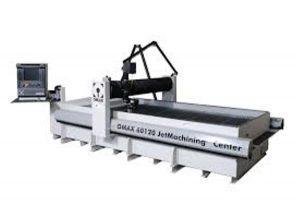 Omax Waterstraalsnijmachine Bewerkingsmogelijkheden: Nagenoeg alle mogelijke materialen Dikte > 100mm